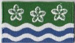 Cumberland Embroidered Flag Patch, style 04